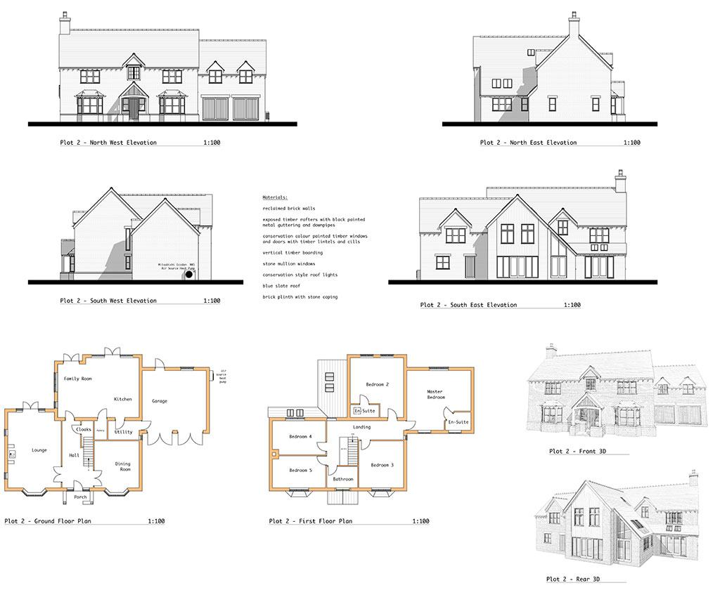 typical example of floor plan elevation and 3d sketch view prepared for planning application - Floor Plan Application