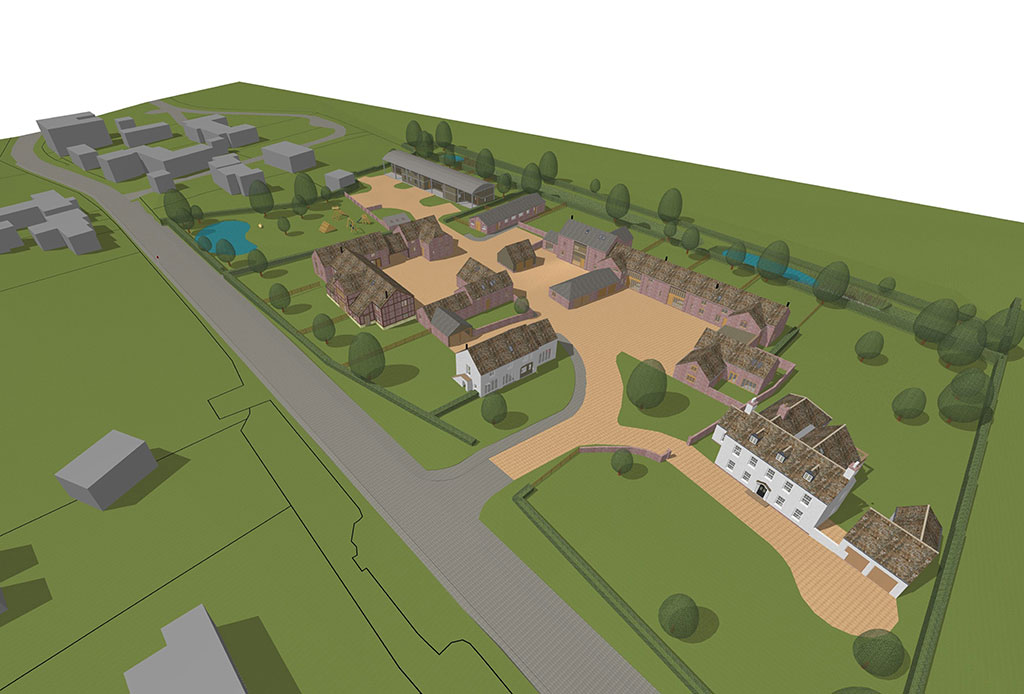 Housing developments archiwildish chartered for Site plan 3d